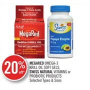 20% Off Megared Omega-3 Krill Oil Soft Gels