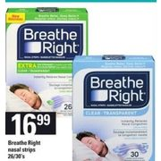 Breathe Right Nasal Strips - $16.99