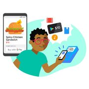 Google: Get a $10.00 Google Play Credit When You Make Five Purchases with Google Pay