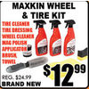 Maxkin Wheel & Tire Kit - $12.99
