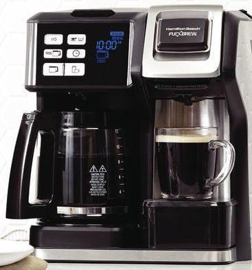 Home Outfitters Hamilton Beach Flexbrew 2 Way Coffee Maker