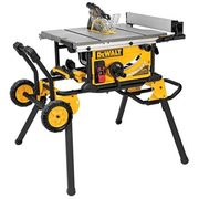 "DeWalt 10"" 15-Amp Job Site Table Saw with Rolling Stand - $764.10 (10% off)"