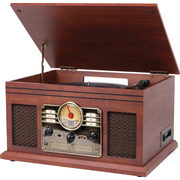 6-in-1 Wooden Music Centre - $109.99 ($50.00 off)