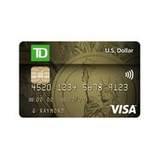 TD® US Dollar Visa* Card: Make Purchases Without Credit Card Foreign Currency Fees
