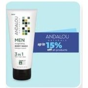 All Andalou Products - Up to 15% off