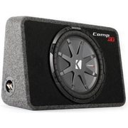 Kicker Sealed Truck Enclosure With 12 Inch Subwoofer - $199.00 ($300.00 off)