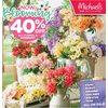 All Floral & Greenery - 40% off