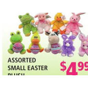 Small Easter Plush - $4.99