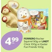 Ferrero Rocher Squirrel Or Lindt Chick Or Easter Fun Friends - $4.99