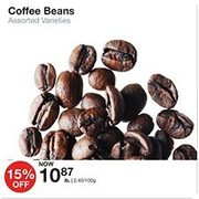 Coffee Beans  - $10.87/lb (15% off)