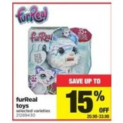 Furreal Toys - $20.98-$33.98 (Up to 15% off)